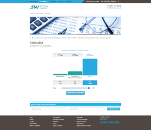 Kalkulačka výnosů z projektu SkyWay