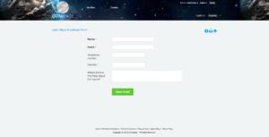 Registrační formulář