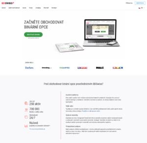 Webové stránky BD Swiss