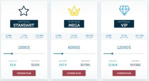 Cryp Trade Capital - investiční plány