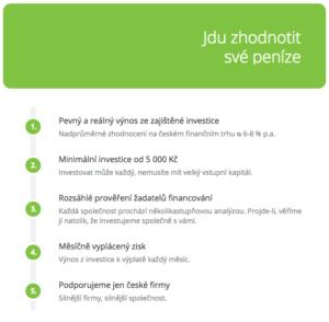 Informace pro investory