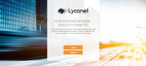 Lyconet - webová stránka projektu