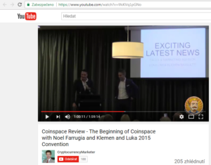 Vedení firmy je stejné jako u CoinSpace!