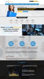 Webová stránka projektu USITECH